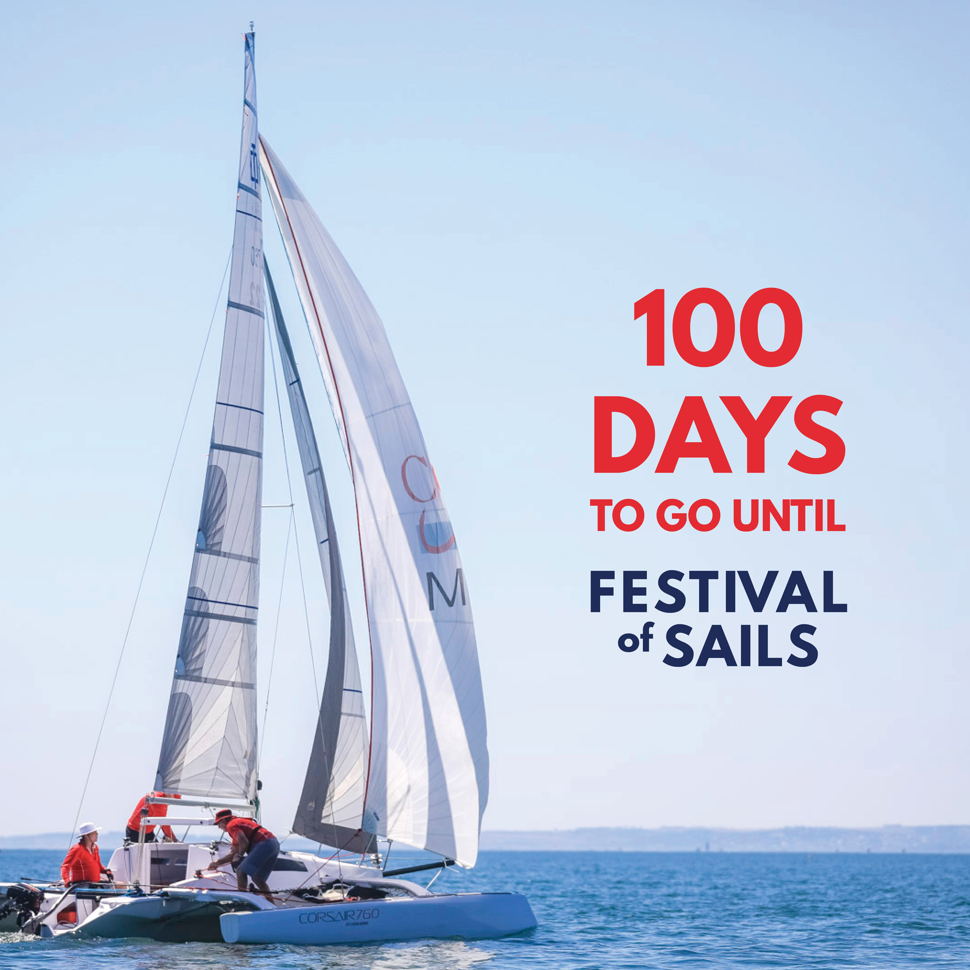 entries climbing with 100 days to go until the 2019 festival of